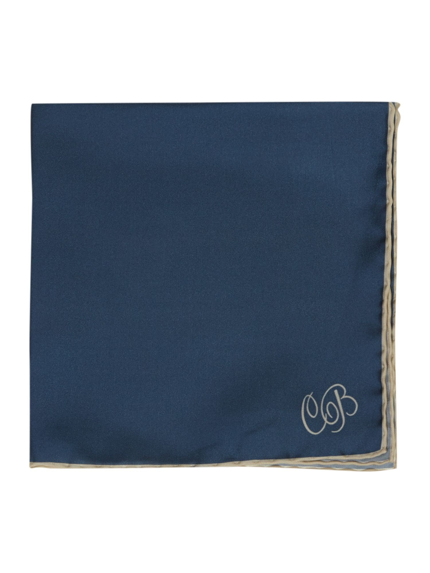 Silk string border square handkerchiefs