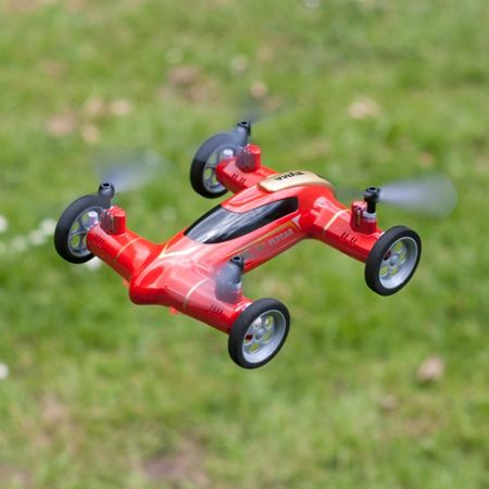 Red 5 X9 Flying Car - Red