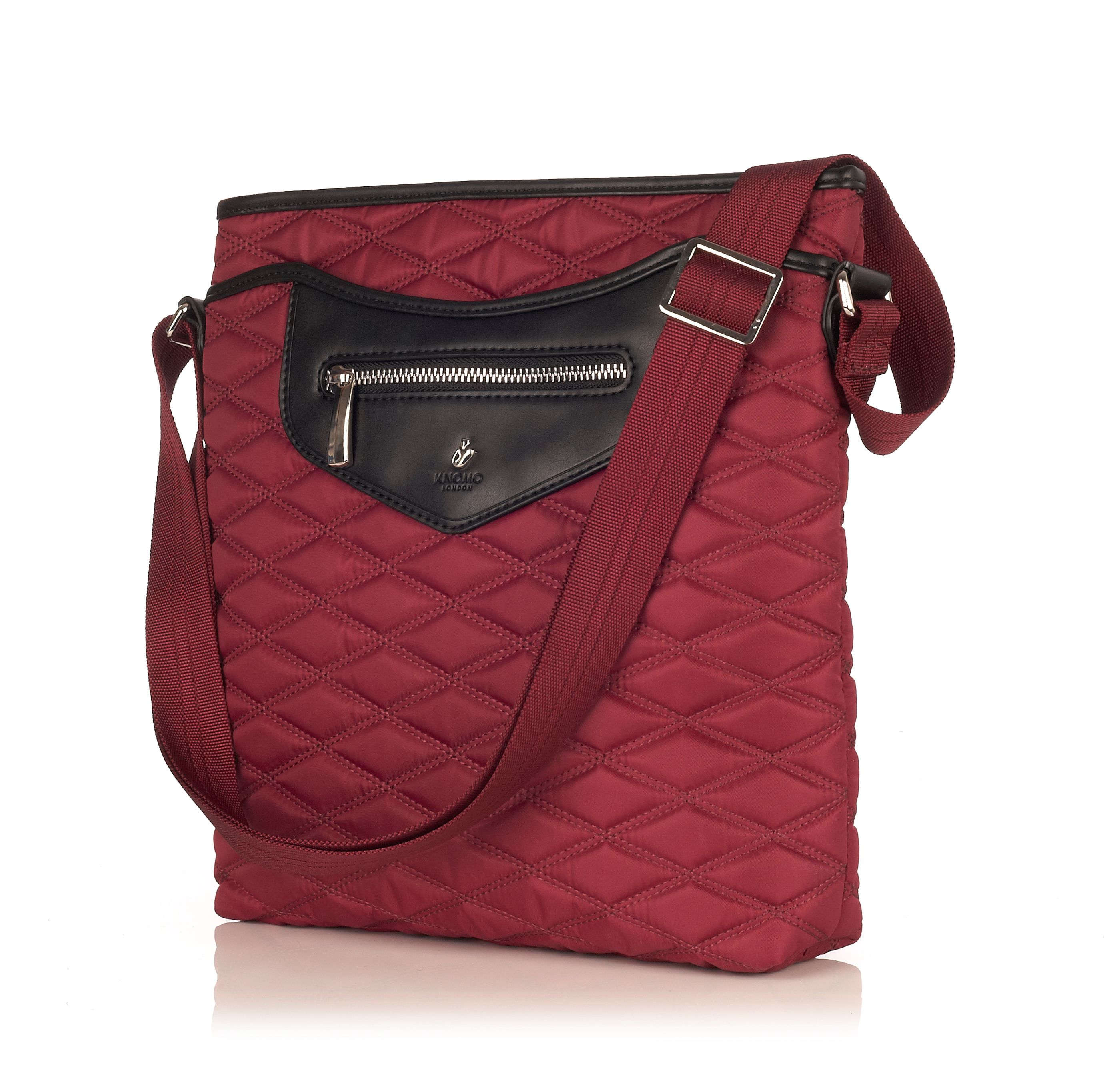 Maple black cherry cross body bag