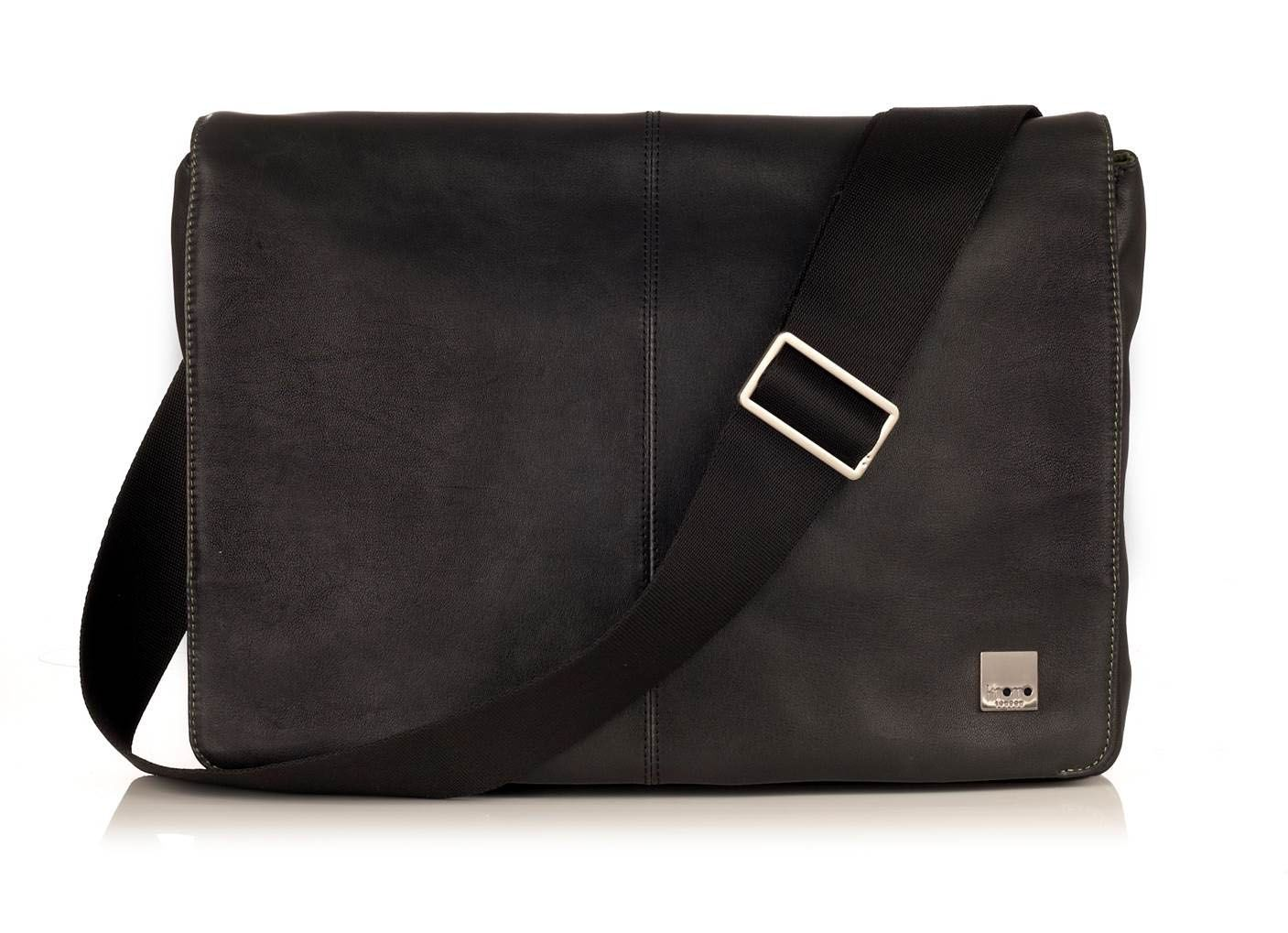 Kinsale black messenger bag