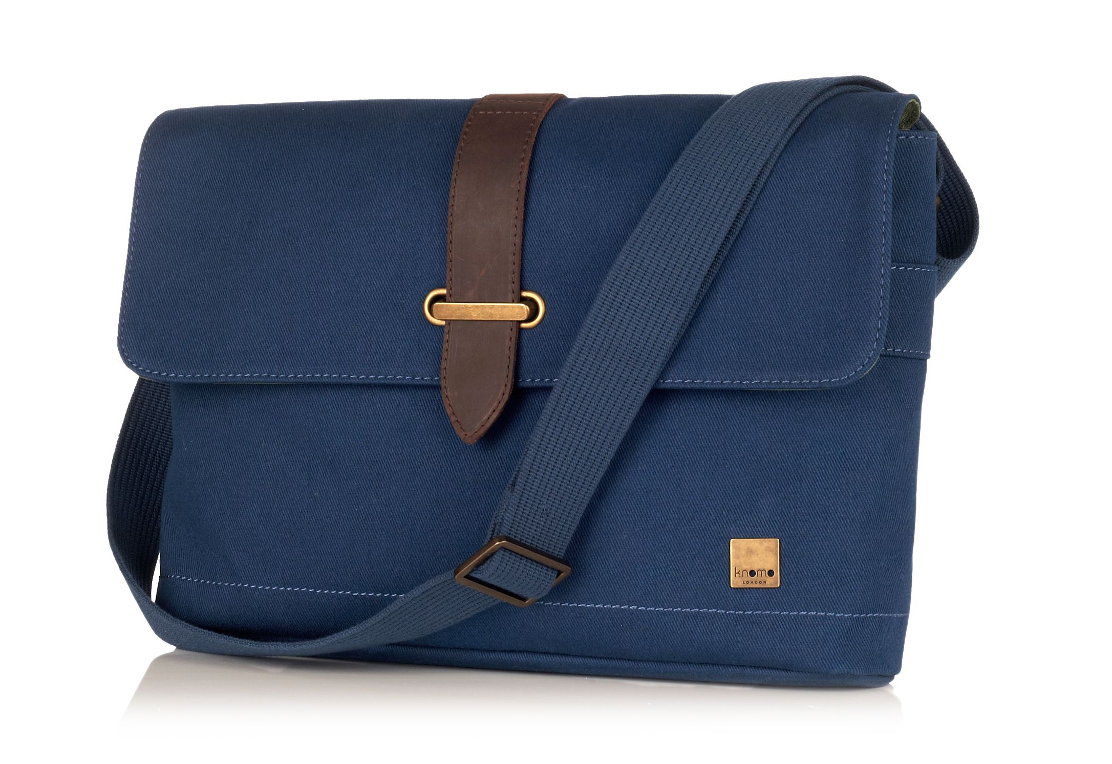 Troon blue cross body messenger bag