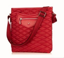 Maple scarlet tablet cross body