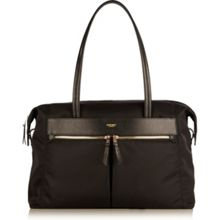 Curzon black nylon shoulder bag