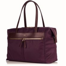 Curzon 15 Aubergine Shoulder Bag