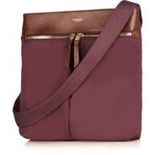 Tilney 8 Aubergine Cross Body Bag