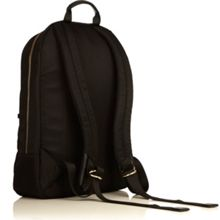 Knomo Beauchamp black nylon lightweight backpack