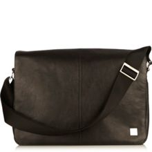 Knomo Bungo leather messenger bag