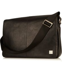 Bungo leather messenger bag