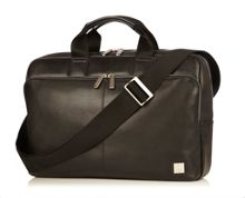 Newbury leather briefcase