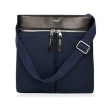 Knomo Tilney 9 navy nylon cross body bag