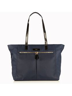 Grosvenor 15 navy nylon lightweight tote bag