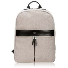 Mayfair nylon beauchamp laptop backpack grey