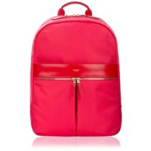 Mayfair nylon beauchamp laptop backpack pink/red