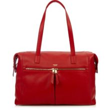 Mayfair luxe curzon shoulder tote red