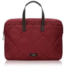 Paddington talbot slim laptop briefcase bordeaux