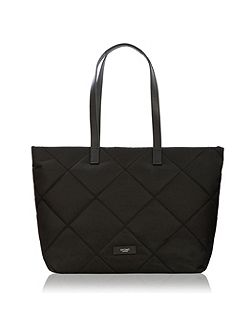 Paddington porchester shoulder tote black
