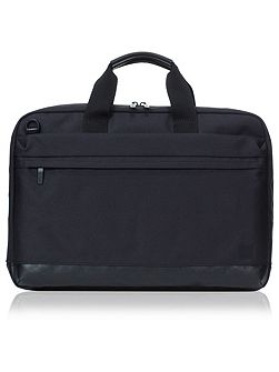 Knomo Shoreditch turin slim laptop briefcase black