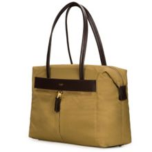 Mayfair nylon curzon shoulder tote antique bronze