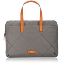 Paddington talbot slim laptop briefcase grey