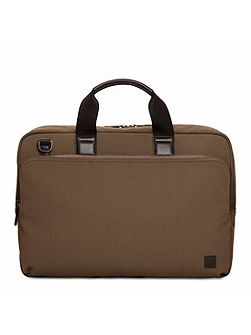 Brompton Maxwell 15 Slim Briefcase Deep Army