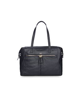 Mayfair Luxe Curzon Shoulder Tote Navy
