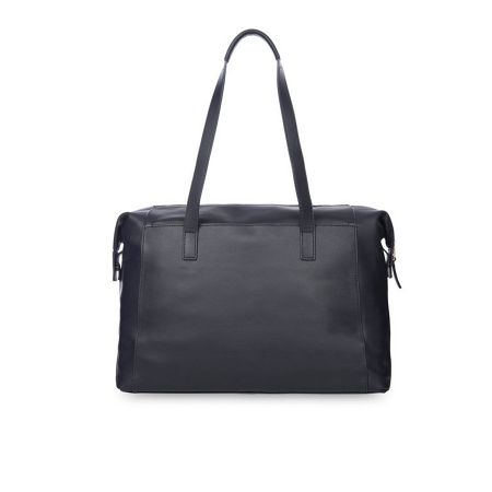 Knomo Mayfair Luxe Curzon Shoulder Tote Navy