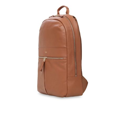 Knomo Mayfair Luxe Beaux 14 Backpack Caramel