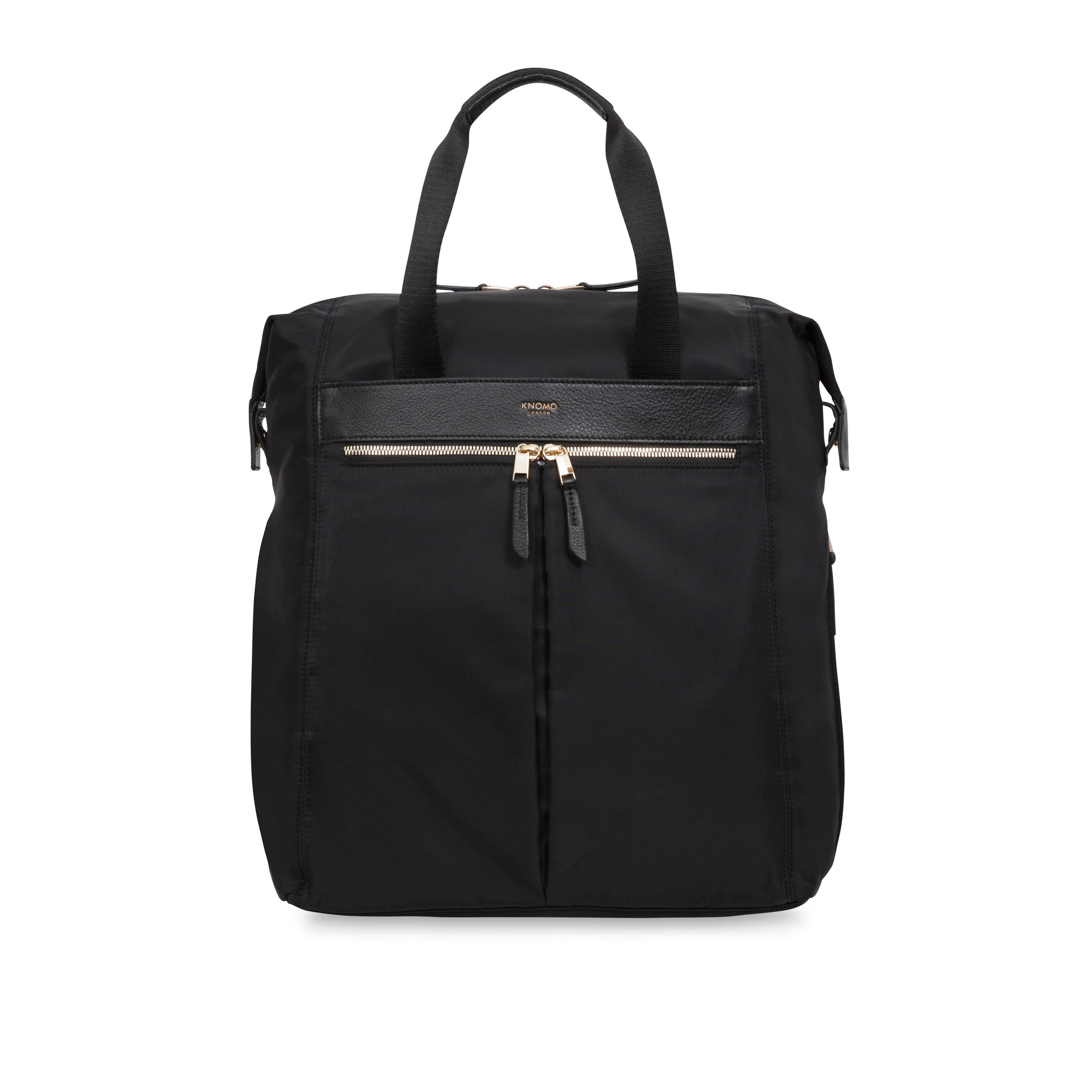 Knomo Chiltern Tote Backpack Bag, Black