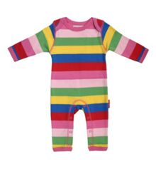 Baby organic cotton sleepsuit