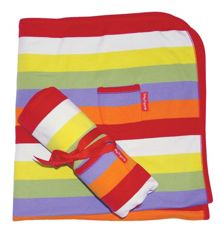 Toby Tiger Kid`s organic cotton blanket
