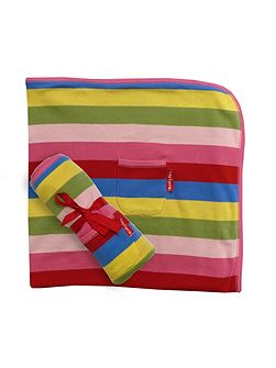 Girl`s organic cotton blanket