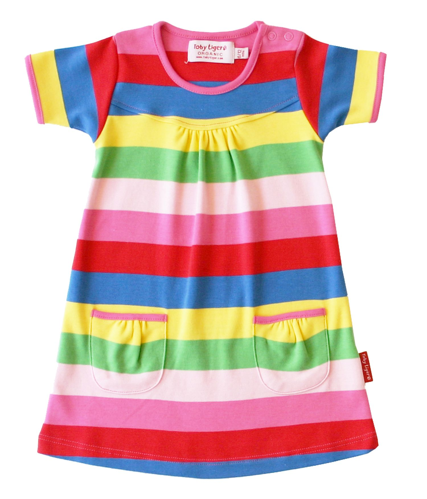 Girl`s organic cotton t-shirt dress