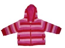Girl`s knitted fleece lined jacket