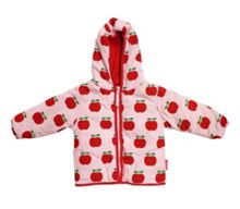 Girl`s padded cord jacket