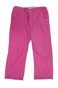 Girls cord pink trousers
