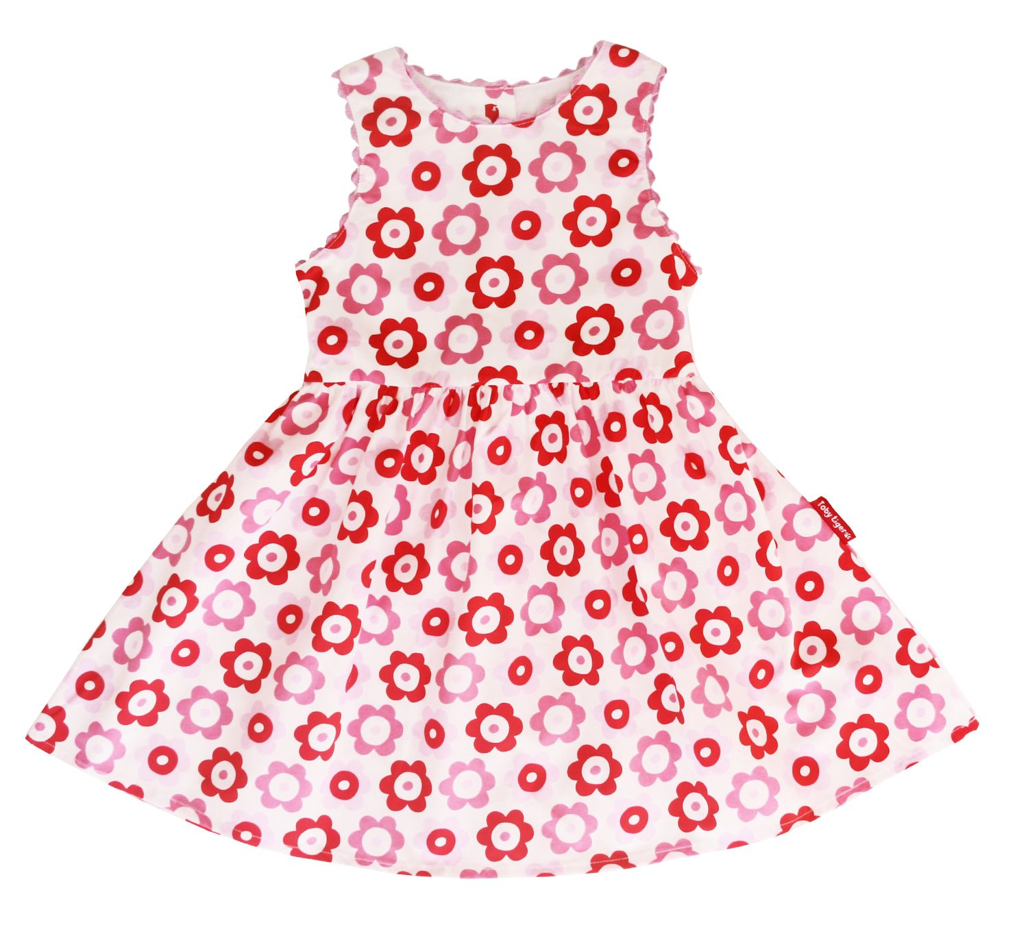 Girl`s party dress in pop flower