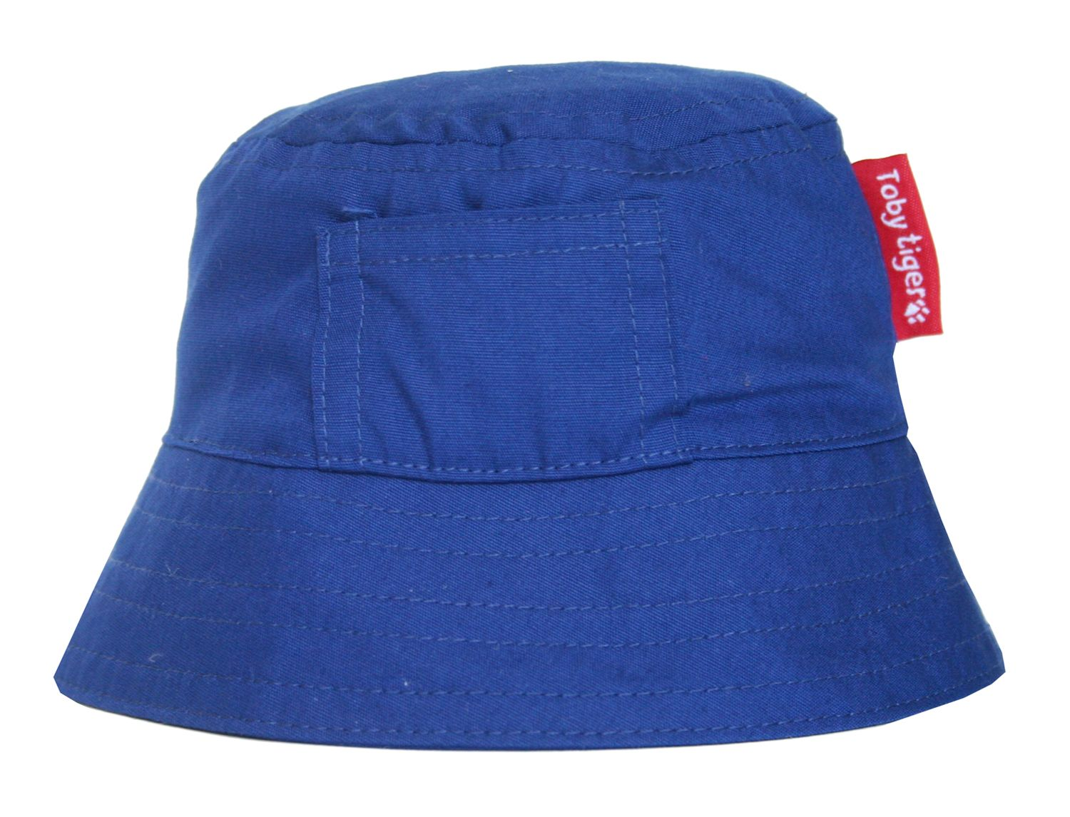 Boy`s canvas sunhat in blue