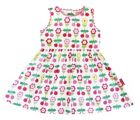 Toby Tiger Girl`s party dress in cherry flower
