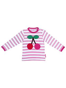 Girl`s Organic long sleeve t-shirt