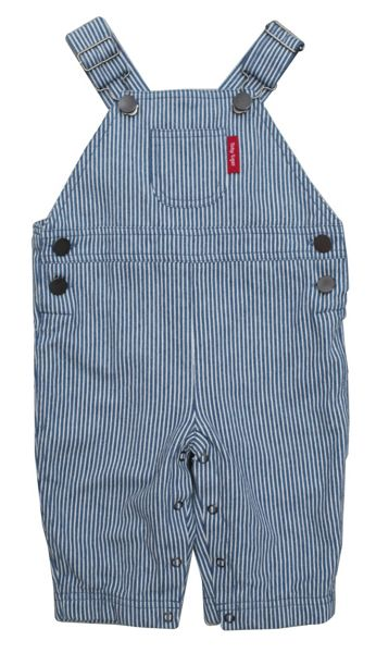 Toby Tiger Boy`s cord blue star dungarees