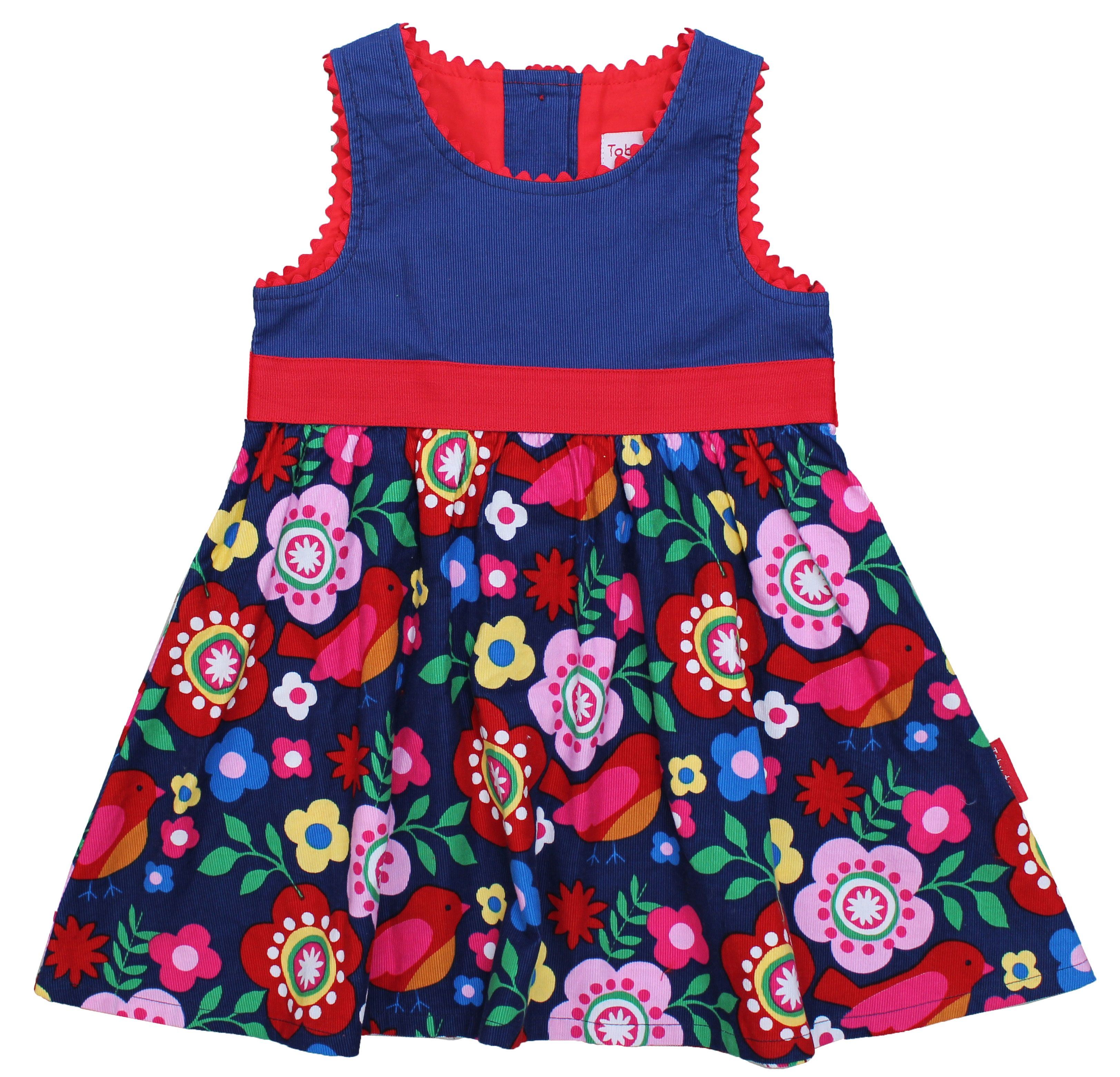 Girl`s cord party dress