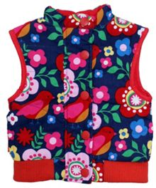 Toby Tiger Girl`s reversible cord gilet