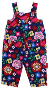 Girl`s cord dungarees