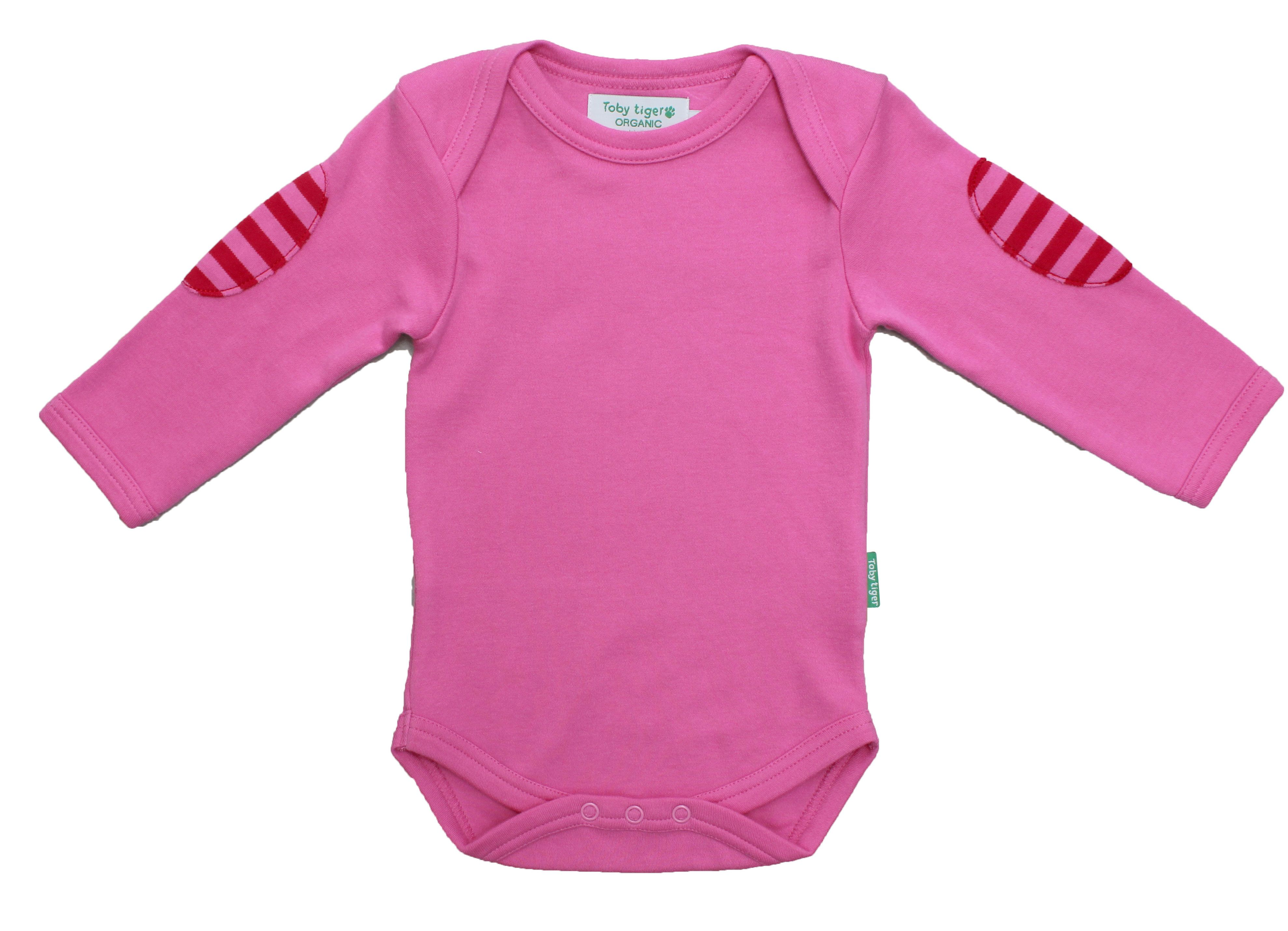 Baby`s organic cotton t-shirt pack pink