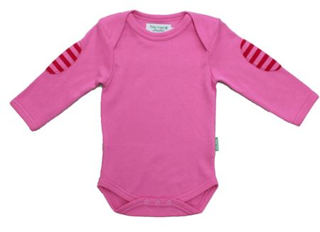 Toby Tiger Baby`s organic cotton t-shirt pack pink