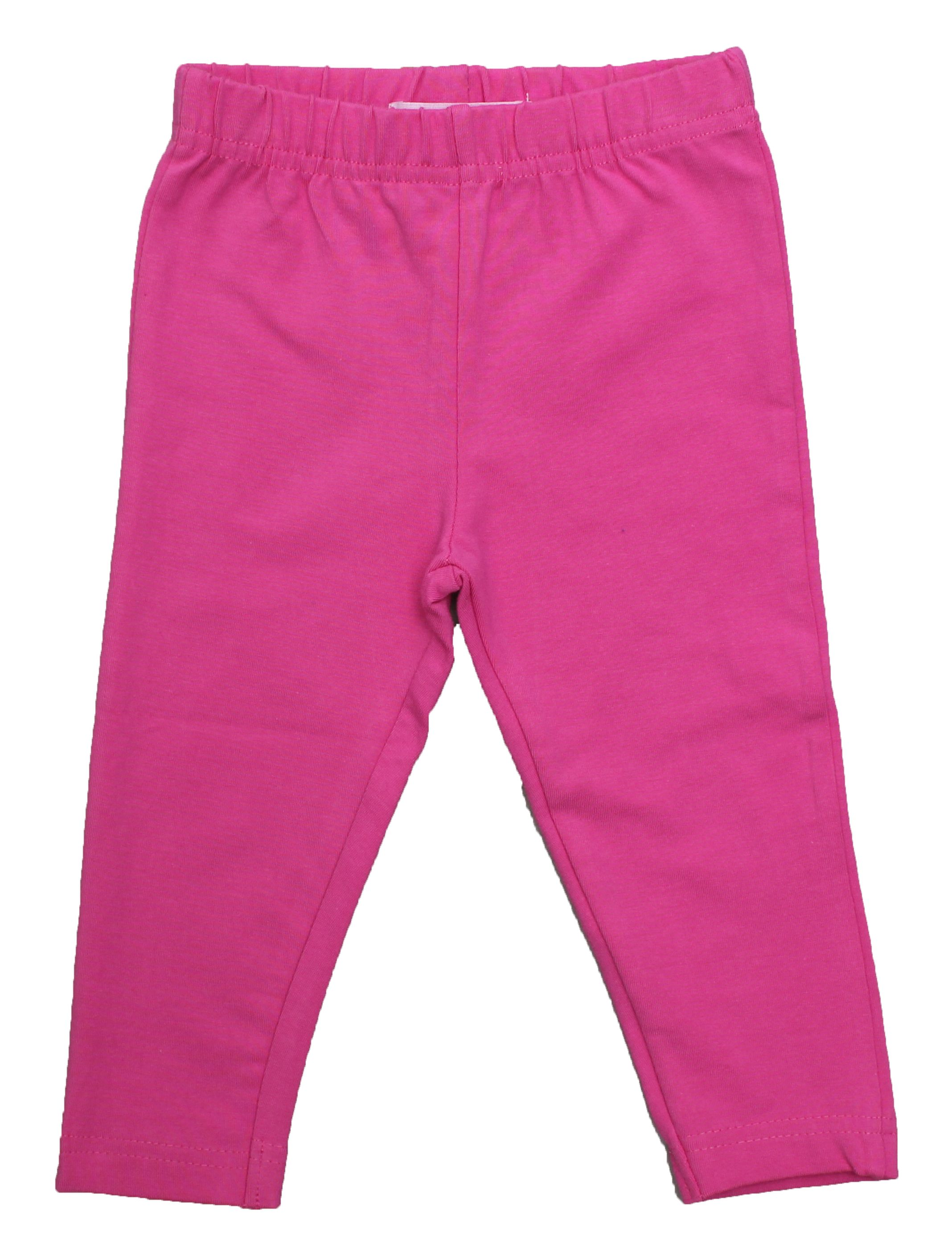 Girl`s organic cotton leggings pack