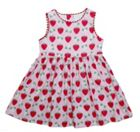 Toby Tiger Girl`s strawberry party dress