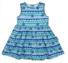 Toby Tiger Girl`s boat party dress