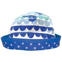 Girl`s reversible boat sun hat