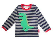 Kids organic cotton t-rex t-shirt
